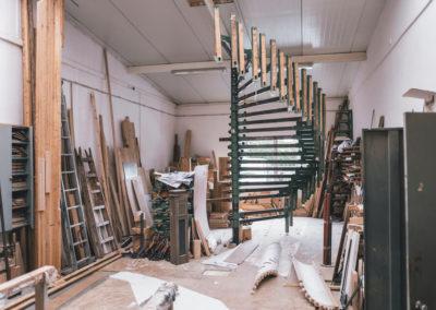 STREGER-Massivholztreppen-Produktion-Treppe