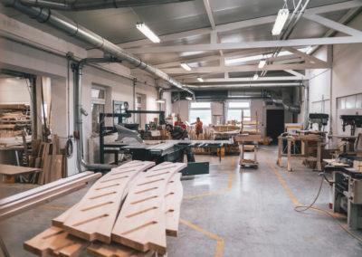 STREGER-Massivholztreppen-Produktionshalle